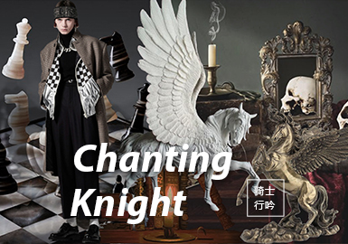 Chanting Knight -- The Fabric Trend for A/W 22/23 Menswear Theme