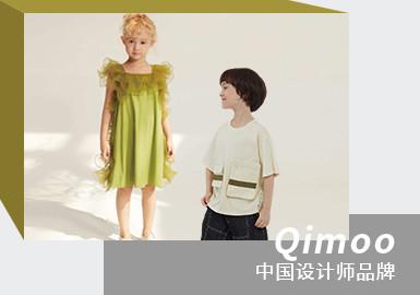 Dreamy Paradise -- QIMOO The Chinese Kidswear Designer Brand