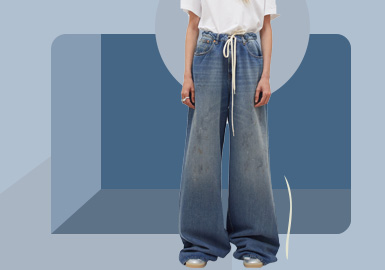 Comfort Volume -- The Silhouette Trend for Women's Jeans