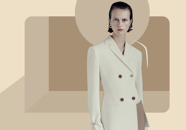 New Posture -- The Silhouette Trend for Women's Suit