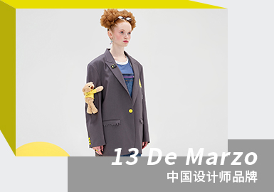 Let's Date with Toys -- The Analysis of 13 De Marzo The Womenswear Designer Brand