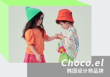 Dazzling Spring & Summer -- Choco.el The Korean Kidswear Designer Brand