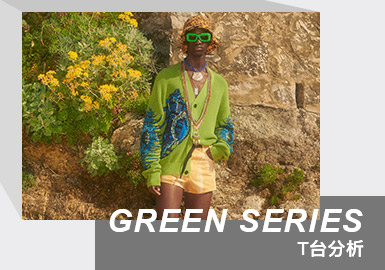The Color Analysis of Menswear Runway (Green Series)
