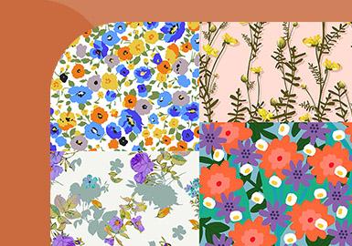 Clothing of Blooming Flowers -- Pattern Trend for Women's Underwear & Loungewear