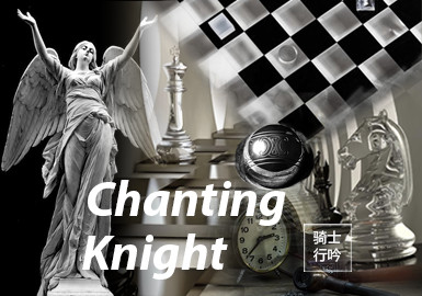 Chanting Knight -- The Pattern Trend for A/W 22/23 Theme