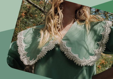 Collar Highlights -- The Detail Craft Trend for Womenswear
