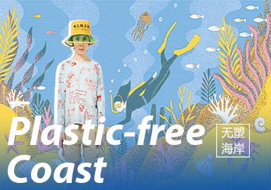 Plastic-Free Coast -- 2020 S/S Pattern Trend for Kidswear