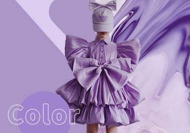 Purple Rose -- The Color Trend for Girls