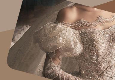Court Baroque -- The Detail Craft Trend for Women's Wedding Dress