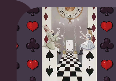 Alice in Wonderland -- The Fast Response Pattern Trend for Womenswear