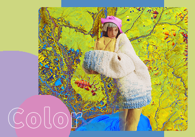 Photosynthetic Perception | Dreamland -- The Color Trend for Women's Knitwear(Young Market)
