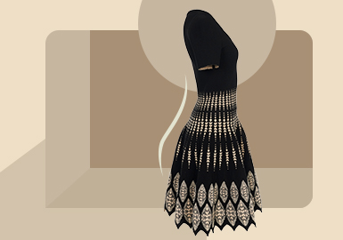 New Elegancy -- The Item Trend for Women's Knitted Dress