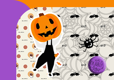 Here Comes the Halloween! -- The Festive Pattern Trend for Kidswear