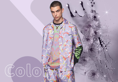 Orchid Hush -- The Color Trend for Menswear