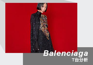Red Carpet -- The Womenswear Runway Analysis of Balenciaga