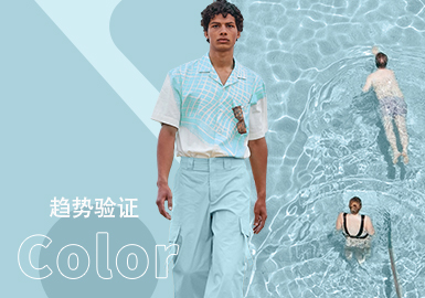 Blue Glow -- The Color Trend for Menswear