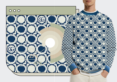 Jacquard Pattern -- Q3 2021 TOP Ranking of Men's Knitwear