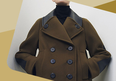 Local Depicting -- The Detail Craft Trend for Women's Overcoat