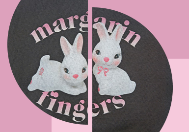 Cute Rabbits -- The Pattern Craft Trend for Womenswear
