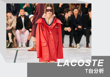 High-end Urban Sportswear -- The Womenswear Runway Analysis of LACOSTE